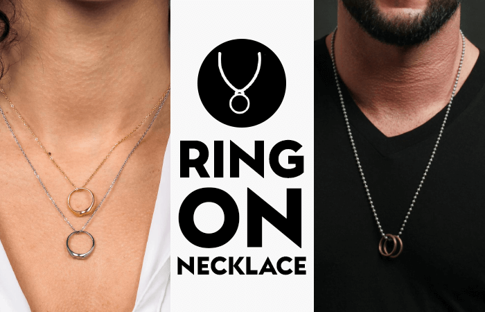 Ring On Necklace