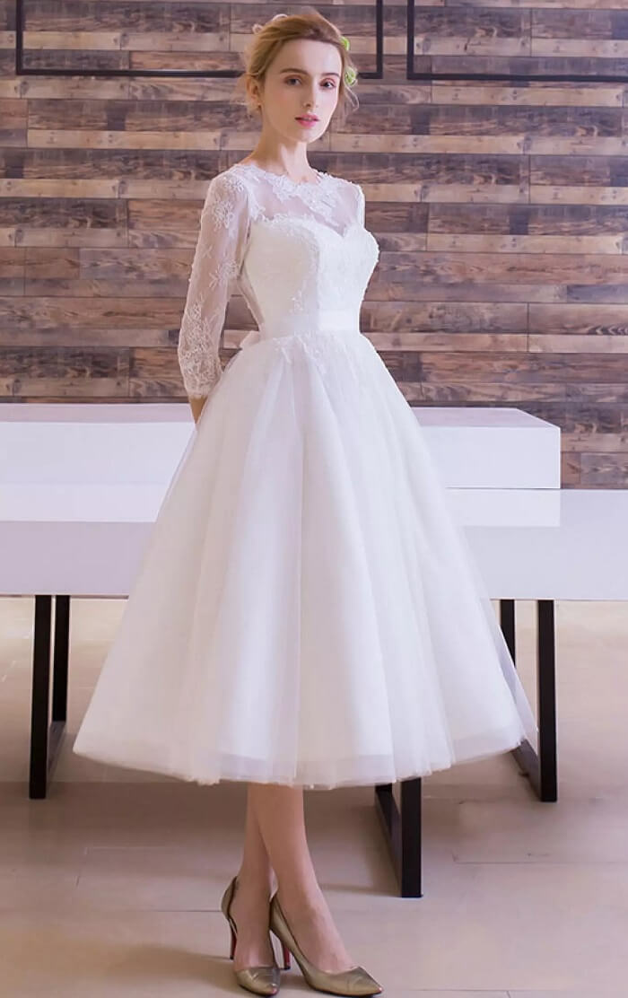 Tulle Lace Wedding Dress