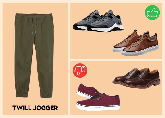 shoes to wear with joggers