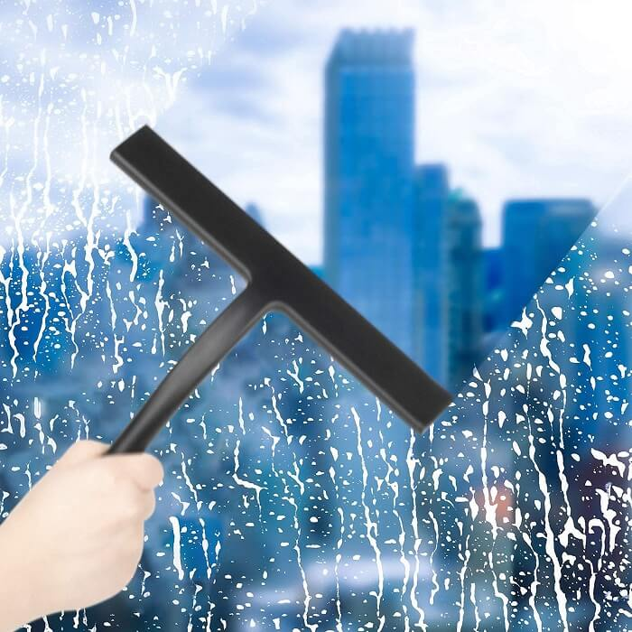 shower squeegee with long handle