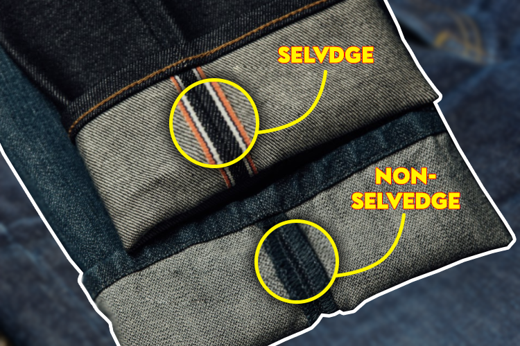 what is selvedge denim jeans