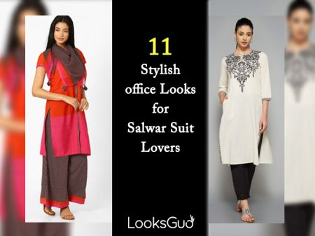 Prefer Salwar Suit only? 11 Stylish office Looks for you