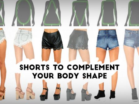 How to Choose Women Shorts According to Your Body Shape?