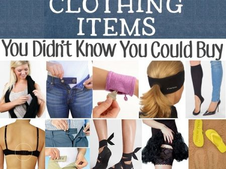 10 Coolest Clothing Items you may not know but exist