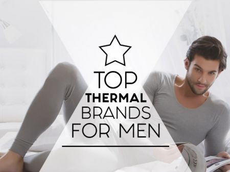 10 Best Brands for Men's Thermals to Stay warm when it's cold out