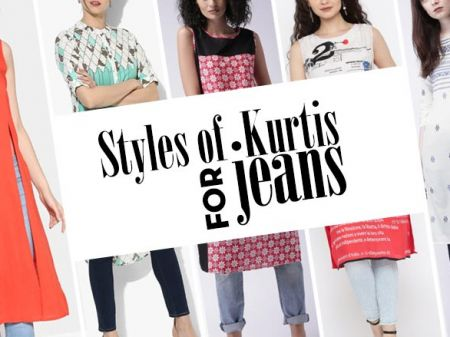 Buying Designer Kurtis for Jeans? Best Designs are Just Click-Away