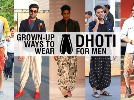 13 Grown-Up Ways to Wear Dhoti for Men
