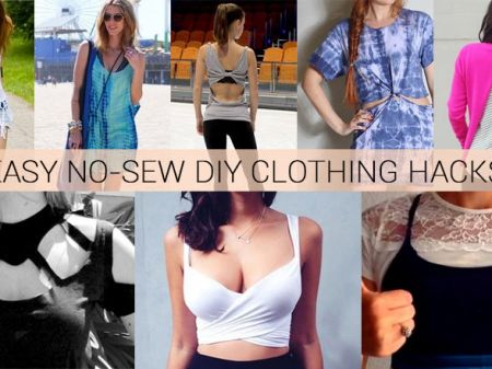 37 Awesomely Easy No-Sew DIY Clothing Hacks