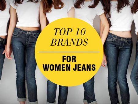Top 10 Brands to Buy Jeans that Every Woman are Crazy About