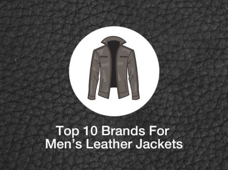 10 Best Leather Jackets Brands all great men should own