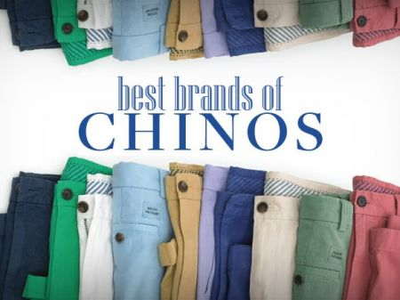 10 Best Chinos Brands for Men to add Dapperness in Look