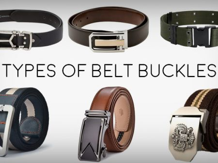 23 Types of Belt Buckle to Play Everyday's Style Game Perfectly