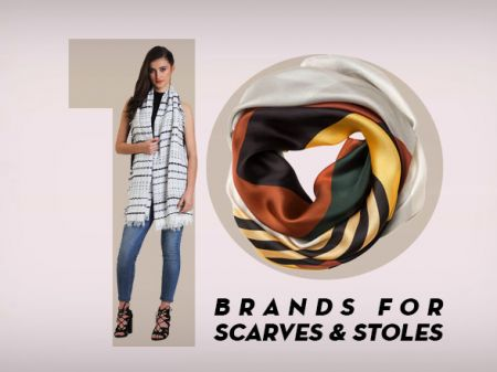 10 Best Brands for Scarves & Stoles to Slay Your Layering Game