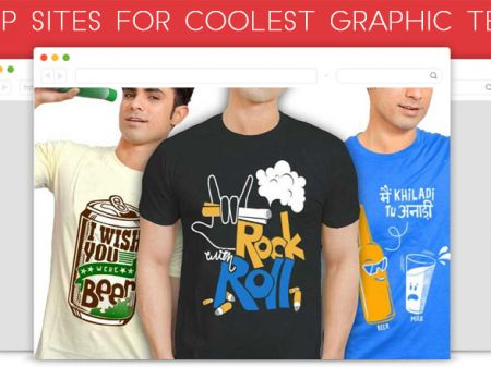 20 Best Websites to Buy Coolest Graphic T-shirt Online in India