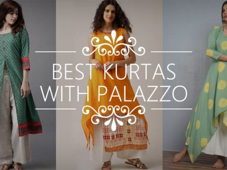 20 Best Kurtas with Palazzo Looks that You Love To Buy