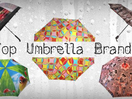 Top 5 Famous Umbrella Brands To Stay Stylish in Rain