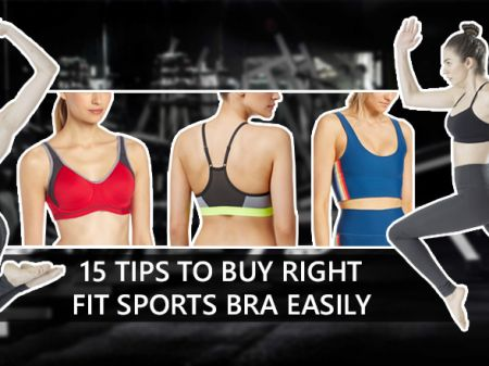 15 Tips to Buy Right Fit Sports Bra Easily