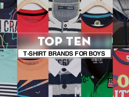 Top 10 T-Shirt Brands for Boys to Buy online in India