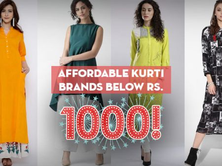 10 Affordable Kurti Brands You won't Believe are under Rs. 1000
