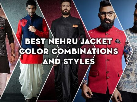 31 Best Nehru Jacket Colour Combination & Styles Men Should Try