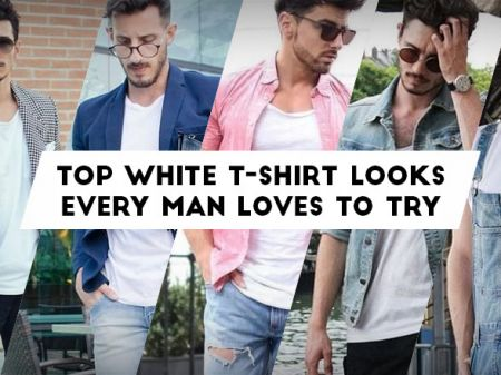 26 Best White T-Shirt Outfit Styles Every Man Loves to Try