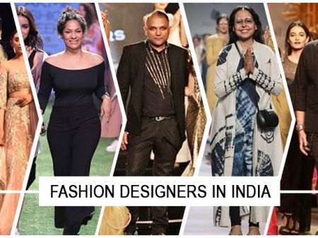 Top 10 Famous Fashion Designers in India