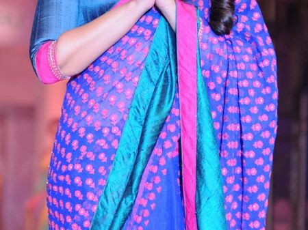 7 Ways to wear a Saree without losing your weight