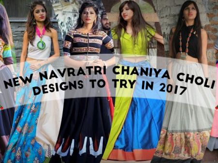 31 New Navratri Chaniya Choli Designs to Try in 2017