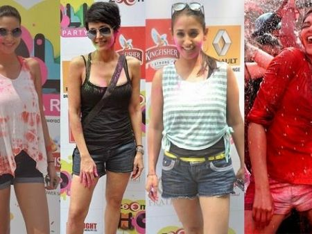 Choose Holi Fashion from Celebrities that You Can Be Proud Of