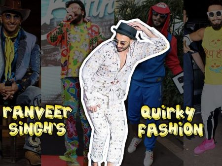 40 Quirky Fashion Moments of Ranveer Singh That Left Us Speechless!