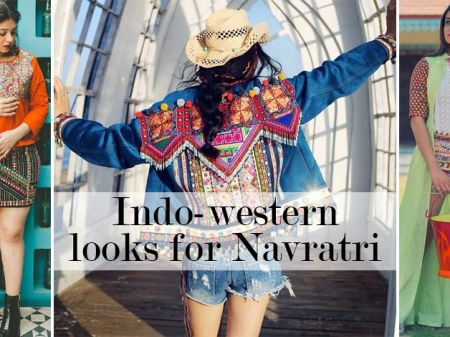 20 Offbeat Indo-Western Outfits to Look Smashing this Navratri