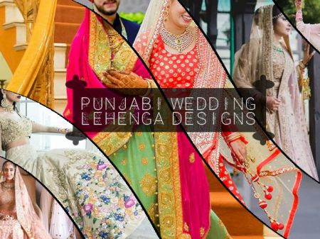 35 Punjabi Bridal Lehenga Styles that You Would Want to Steal!