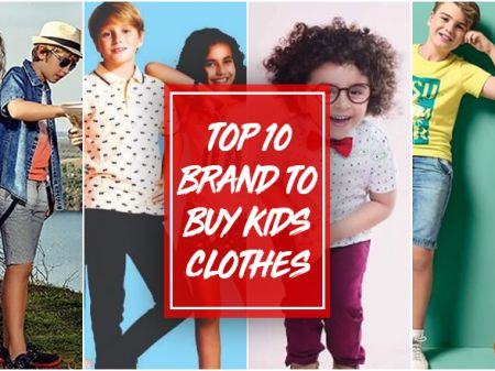 10 Best Kids Clothing Brands in India For Online Shopping