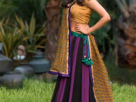 Trendy unseen Navratri Chaniya Choli Designs from Local stores