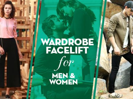 A Wardrobe Facelift for Men and Women