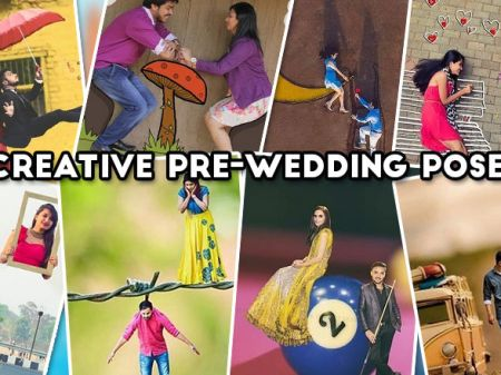 Creative Pre-Wedding Pose Photos that Everyone Love to Try