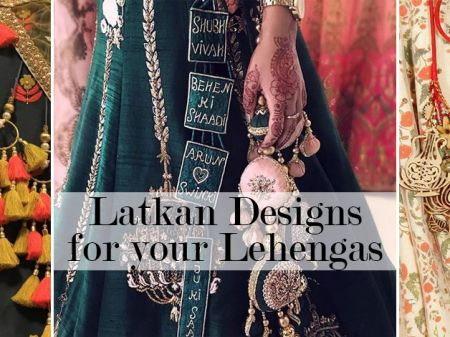 20 Most Eye-Catching Latkan Designs to Prettify your Lehenga!