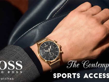 The Contemporary Sports Accessory: Hugo Boss Watches