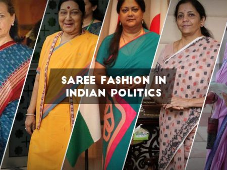 Saree Fashion in Politics: Top Indian Women Leaders in Saree