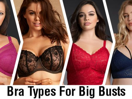 14 Best Support Bra Types for Big Breast Lift & Shape