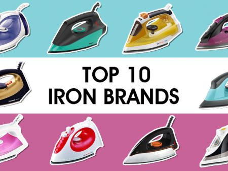 10 Best Iron Brands to Buy Online in India to De-Wrinkle Clothes