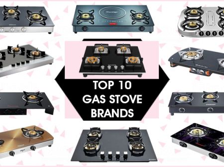 10 Best Gas Stove Brands to Buy Online in India