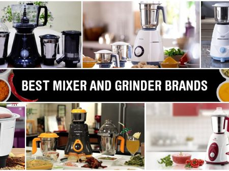 10 Best Mixer Grinder Brands to Buy Online in India