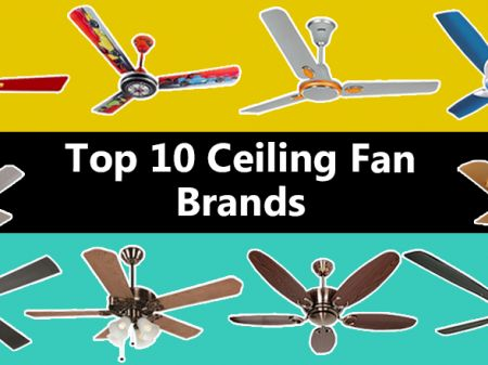 10 Best Ceiling Fan Brands to Buy Online in India For Home & Office