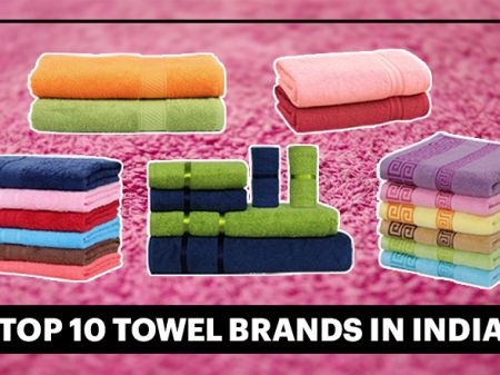 10 Best Towel Brands in India to Dry Body Quickly