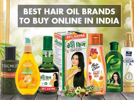 10 Best Hair Oil Brands in India for Hair Growth & Thickness