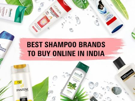 10 Best Shampoo Brands in India for Healthy & Clean Hair