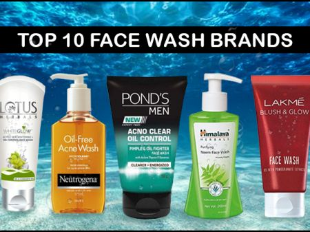 Top 10 Face Wash Brands in India for Fresh & Dirt-Free Skin