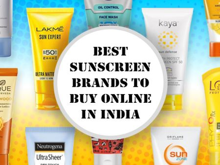 10 Best Sunscreen Brands to Buy Online in India