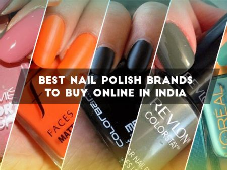 10 Best Nail Polish Brands to Buy Online In India